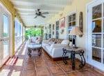 Casa Blanca - Porch sitting room