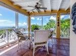 Casa Blanca - porch dining table